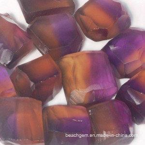 Natural Bi-Color Ametrine Gemstone Rough Wholesale (15-40g) pictures & photos
