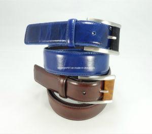 Fashion Men′s Belt of Full Grain Leather
