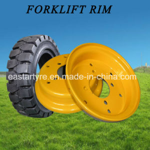 Forklift Tyre Wheel Rim (5.00S-12 4.00E-9 5.00F-10) pictures & photos