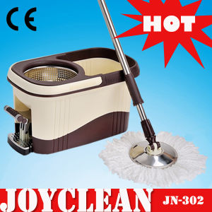 Joyclean 2015 Popular Item Luxery 4-Device Microfiber Rotating Mop (JN-302) pictures & photos