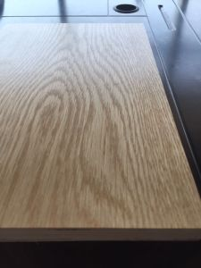 12mm, 15mm, 18mm Oak Ash Cherry Veneer Prefinishied UV Plewood pictures & photos