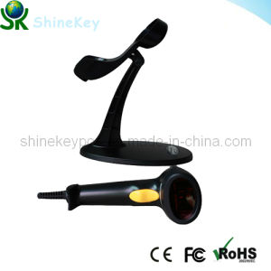 Hot Laser Barcode Reader (SK 9800 Black With Stand) pictures & photos