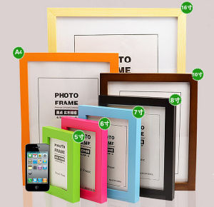 Retailing Common Wooden Picture Frames (PF-028) pictures & photos