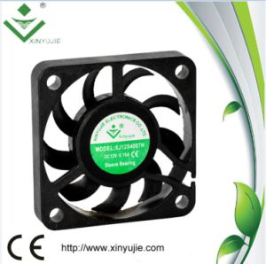 5 Volts 12 Volts 40mm DC Brushless Cooling Fan 40X40X07mm pictures & photos