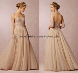 Sweetheart Prom Gowns Tulle Beach Bridal Gowns Party Evening Dresses Z3011 pictures & photos