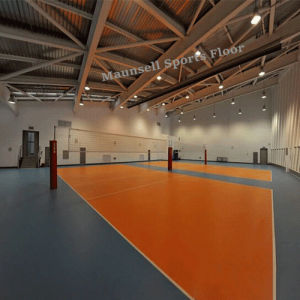 Indoor Cheap Volleyball PVC Sports Flooring pictures & photos