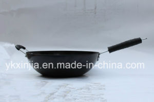 Kitchenware Carbon Steel Chinese Wok with Non-Stick Coating pictures & photos