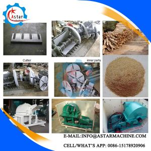 Small Waste Wood Crusher Machine for Sale pictures & photos