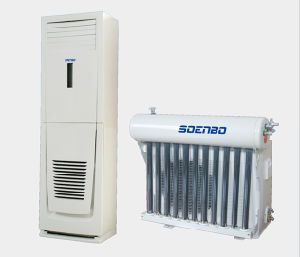 Large Cooling Capacity Floor Standing Hybrid Solar Air Conditioner, Solar Air Conditioning, Solar Aircon, HVAC