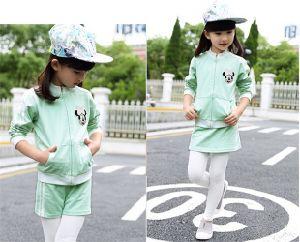 Sports Knit Fleece Sweat Shirt, Zip Jacket for Girl