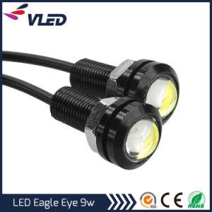 9W 18mm White 12V LED Eagle Eye Daytime Running DRL Brake Light pictures & photos