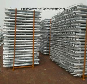 Q235 Hot Dipped Ground Screw for Foundation System pictures & photos