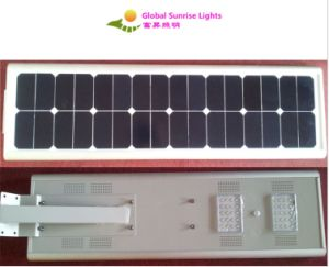 20W Lithium Battery All in One Integrated Solar Street Light pictures & photos