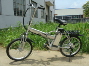 "20"" Aluminum Alloy Electric Bike with 36V Lithium Battery En15194"
