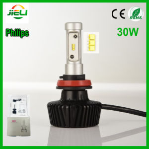 Philips 30W P83 H11 LED Car Headlight pictures & photos