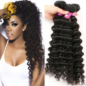 Brazilian Virgin Hair Deep Wave 3 Bundles Rosa Hair Products Brazilian Deep Wave Cheap Virgin Brazilian Curly Virgin Bundles pictures & photos