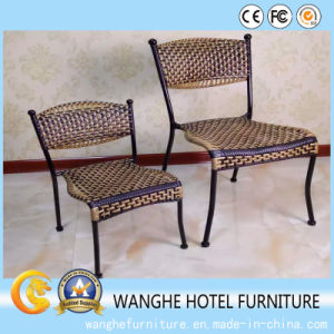 Simple Rattan Stacking Furniture Chair Set pictures & photos