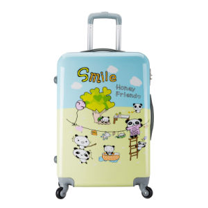Lovely Kids PC Luggage Printed Travel Bag Set 20 Inch 24 Inch 28 Inch