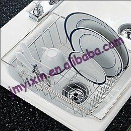 Kitchen Dish Drainer Set Rack
