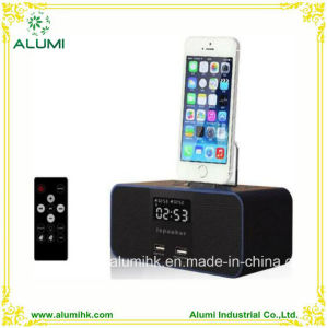 Hotel Bluetooth Digital Docking Station Alarm Clock pictures & photos
