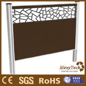 Aluminium Wood Folding Screen WPC Fence pictures & photos