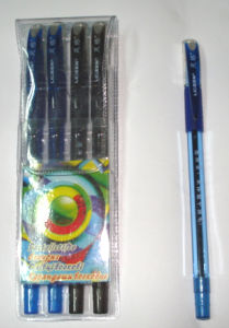 Plastic Barrel Ball Point Pen with Germany Ink pictures & photos