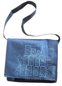 Gray Non-Woven Shoulder School Bag (hbnb-497) pictures & photos