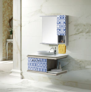 Hot Selling Sanitary Ware Stainless Steel Bathroom Washing Cabinett-9482) pictures & photos