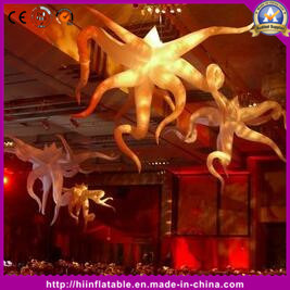 Hot Selling Decorative LED Lighting Inflatable Star for Event, Party Decoration