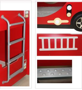 2016 New Style Children Bunk Bed Made by Solid Wood (M-X1169) pictures & photos