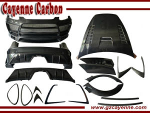 Cayenne Carbon Fiber Car Body Kits Same Paragraph with Lumma