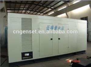 ISO Aprroved Soundproof Powered Generator 300kw/400kw/500kw pictures & photos