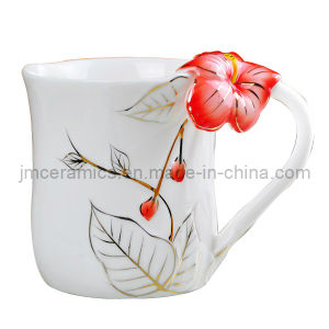 Enamel Porcelain Teacup pictures & photos