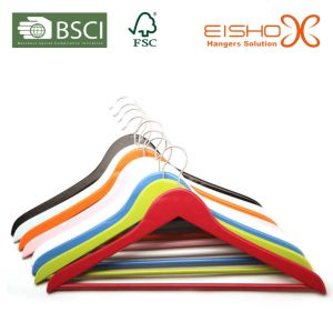 Clothes Hanger / Wooden Hanger Different Colors (MP636) pictures & photos