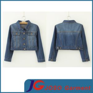 Short Denim Jacket for Women (JC4022) pictures & photos