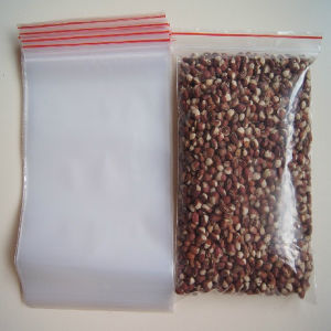 Self Adhesive Plastic Food Bag Packaging with Zipper pictures & photos