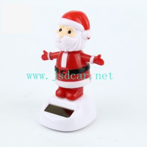 Santa Claus Doll Solar Swing Car Decoration (JSD-P0063) pictures & photos