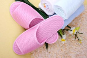 Summer Pink Slipper