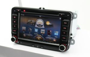 Vw Pure Android 4.0 Car DVD with 5-Point Capacitive Touch 1024X600 HD LED Screen GPS Bluetooth 2g DDR3 RAM Steering Wheel Control