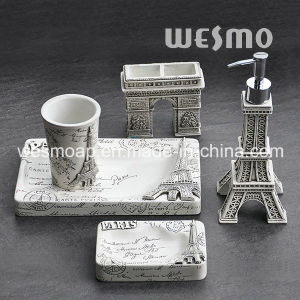 Paris Style Polyresin Bathroom Set pictures & photos