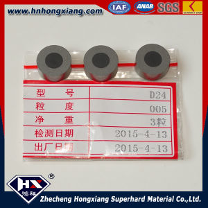 China Diamond Round PCD Blanks for Wire Drawing pictures & photos