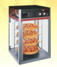 CE Approved OEM Stainless Steel Free Standing Pizza Warming Showcase pictures & photos