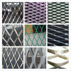Flatted or Raised Expanded Metal, Diamond Grip pictures & photos