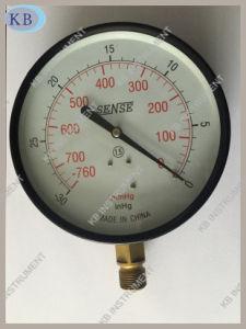 """6"""" Dry Black Steel Case Vacuum Gauge Manometer pictures & photos"""