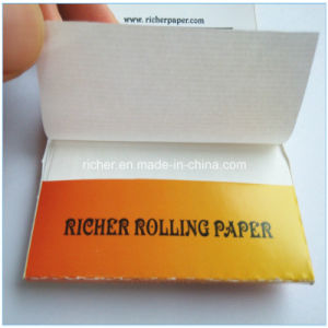 Richer Brand Custom OEM Logo Printed Tobacco Rolling Paper pictures & photos