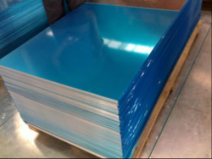 3A21-O Temper Aluminum Sheet with PVC Film pictures & photos