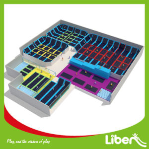 Liben Professional Price of Indoor Trampoline Courts for Adults pictures & photos