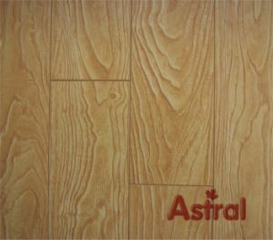 Registered Embossed (U-Groove) Laminate Flooring (8001) pictures & photos