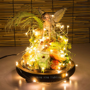 5m 15FT LED Copper String Light for Home Bedroom Garden Christmas Tree Holida Wedding Party Decoration