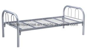 Simple School Hotel Worker Metal Steel Iron Single Bed pictures & photos